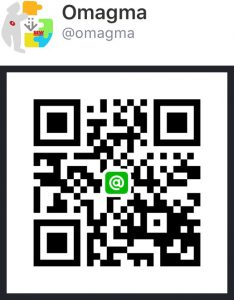 qr code line omagma