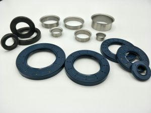 oil seal and sleeve